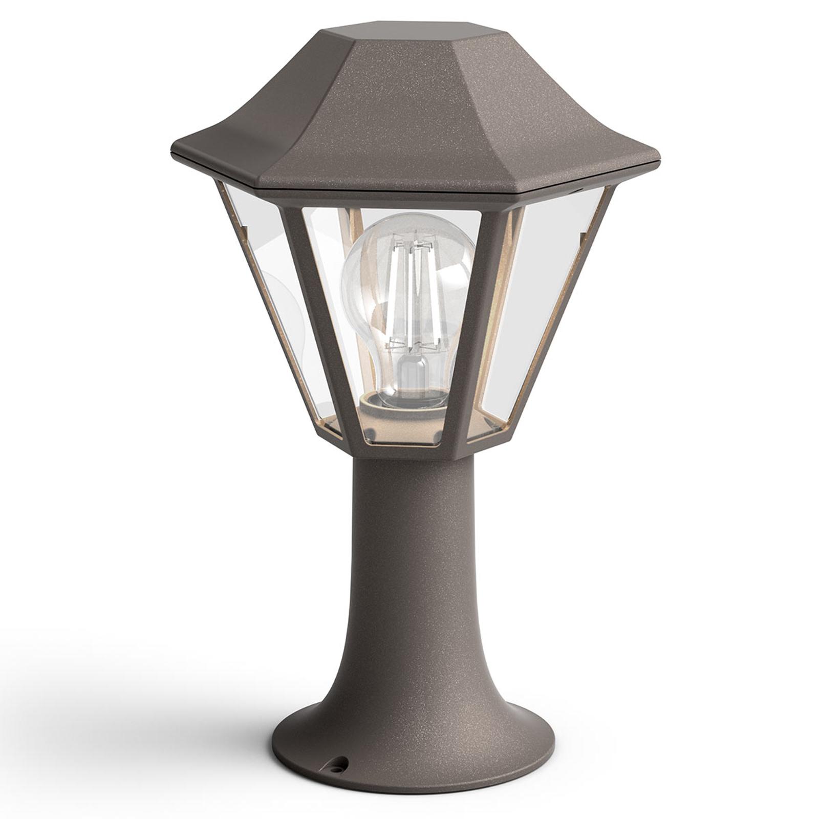 Słupek oświetleniowy Curassow myGarden, brązowy