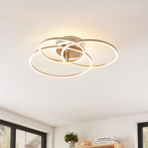 Lindby Smart Tula lampa sufitowa LED