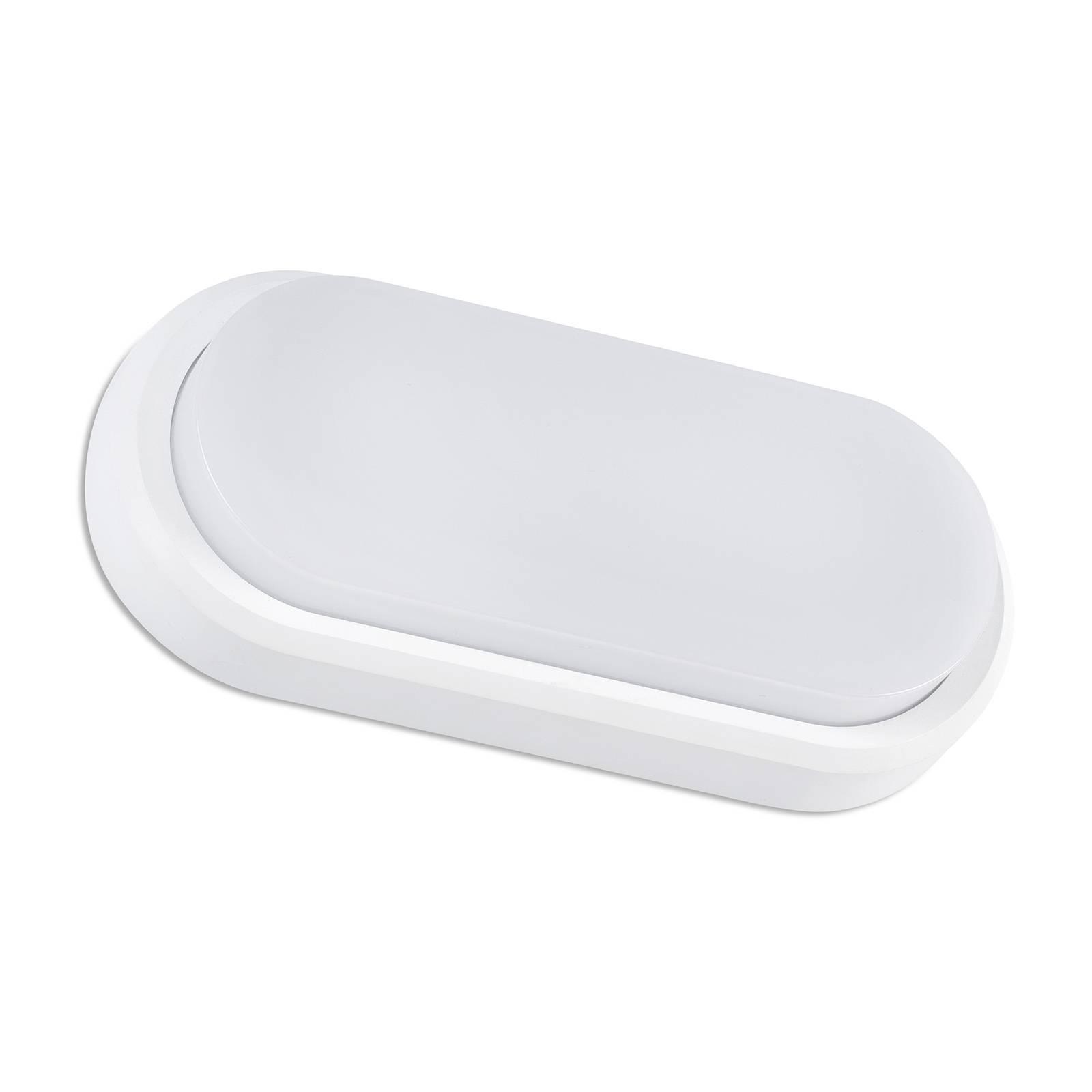 Applique d'extérieur LED Fred XL IK10 blanche