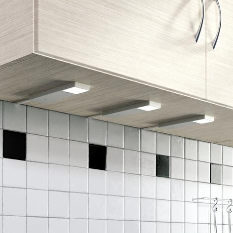 LED-kaapinalusvalaisin Amaryll, 3 kpl/sarja
