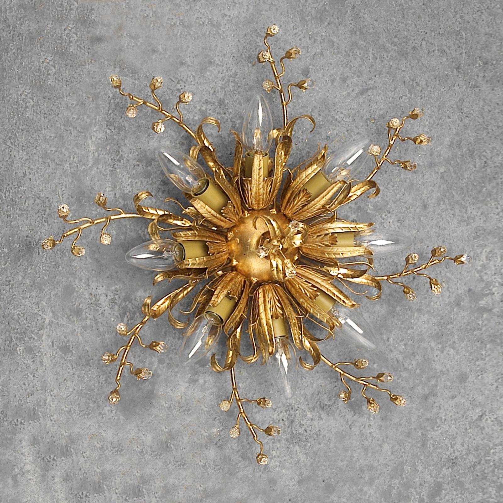 Imponująca lampa sufitowa LATINA 8-punktowa