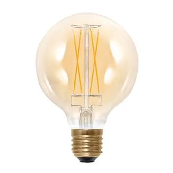 E27 G95 6W 2.000K 325 lm LED-globepære, guld