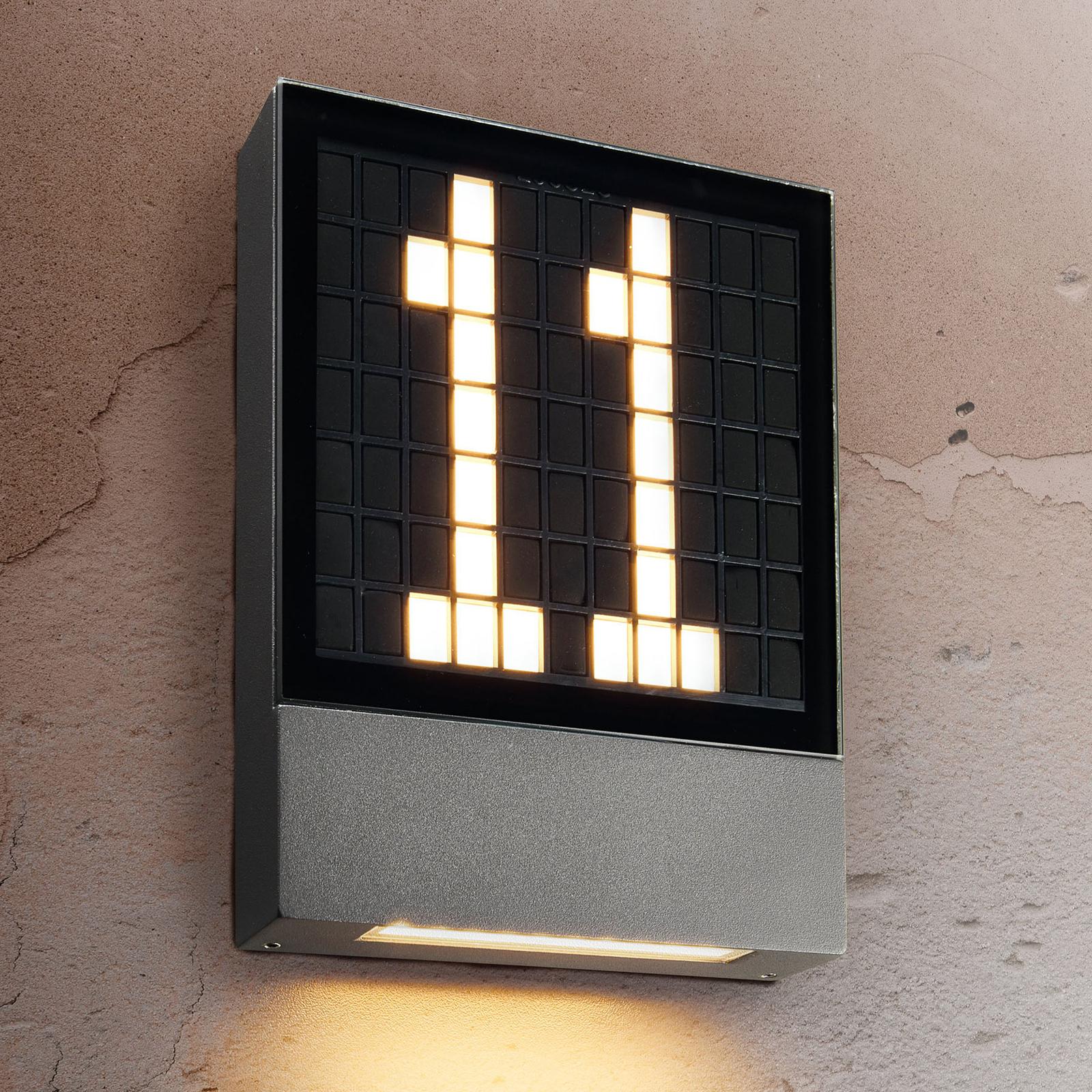 Oświetlenie numeru domu LED Pavia system wtykowy