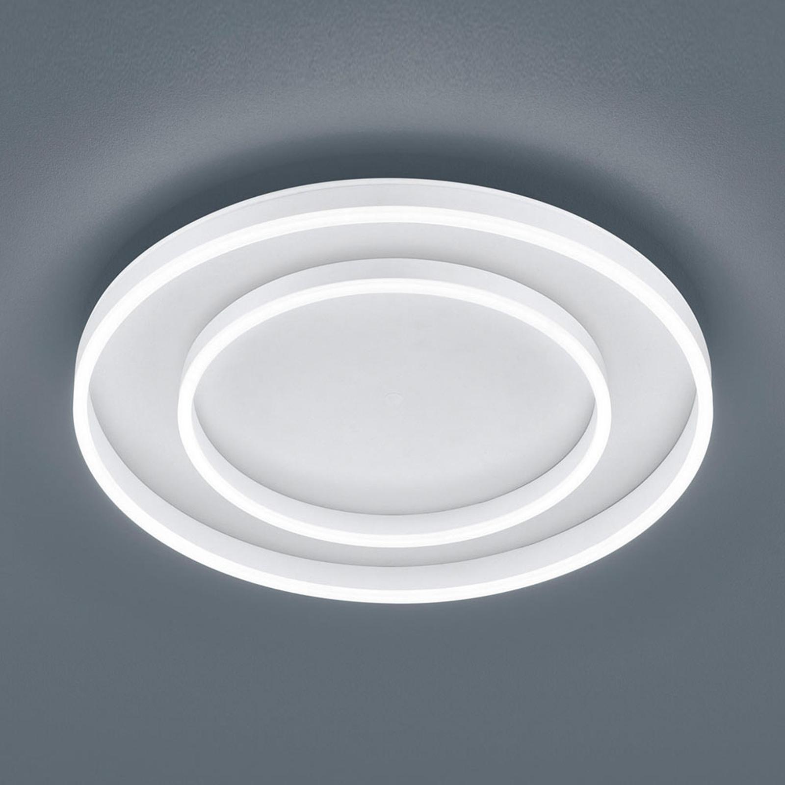 Helestra Sona LED-taklampe dimbar, Ø60cm hvit