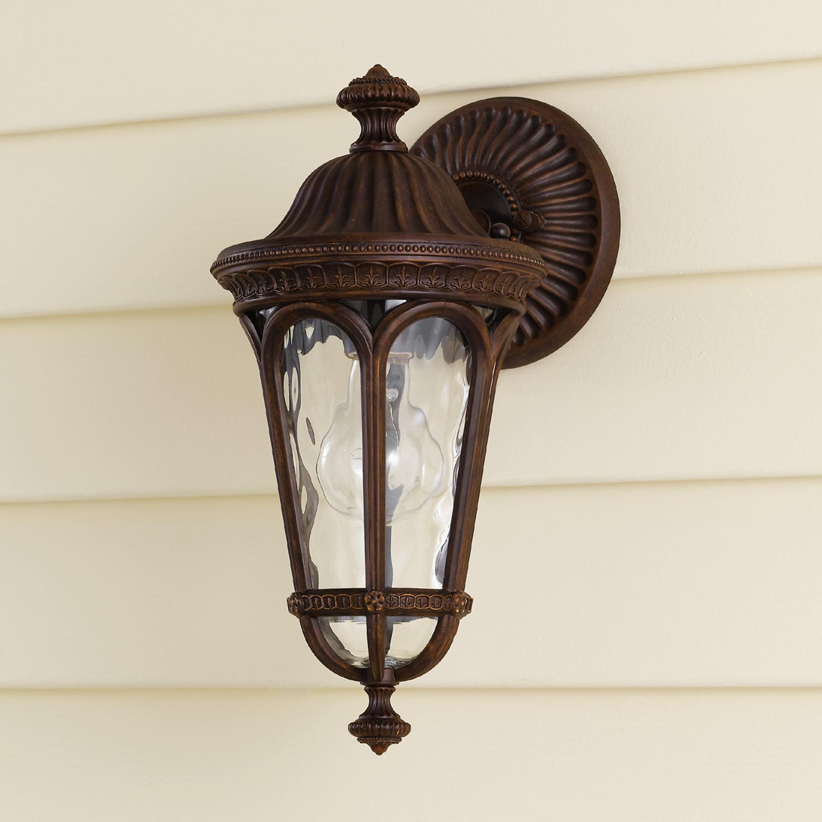 Rustykalna lampa ścienna zewnętrzna REGENT COURT