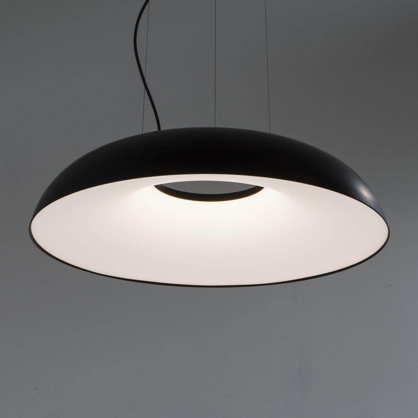 Martinelli Luce Maggiolone Pendel 930 60cm schwarz