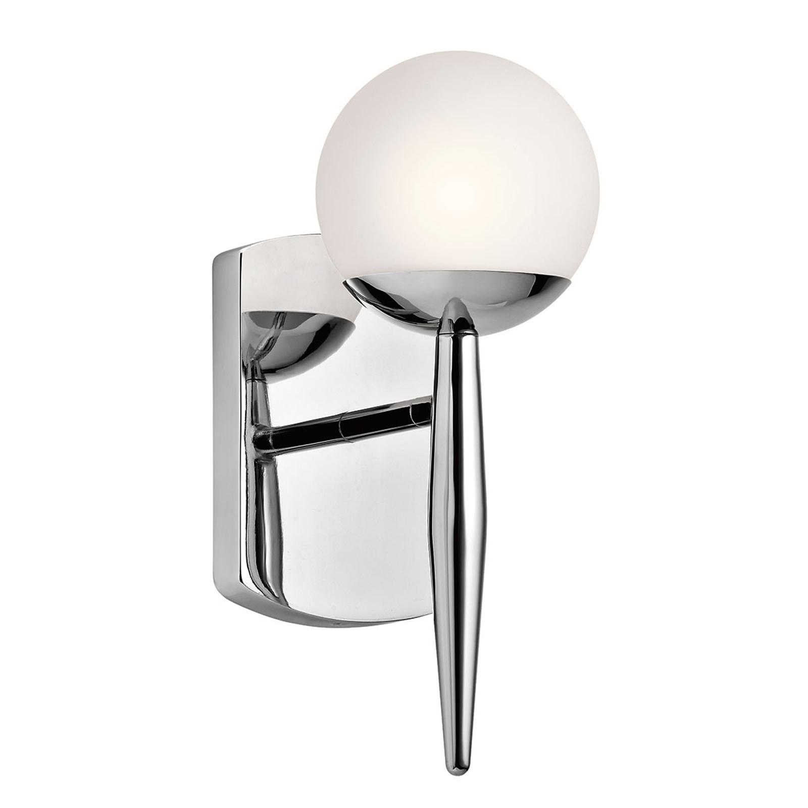 Jasper LED-væglampe til badeværelset, 1 lyskilde