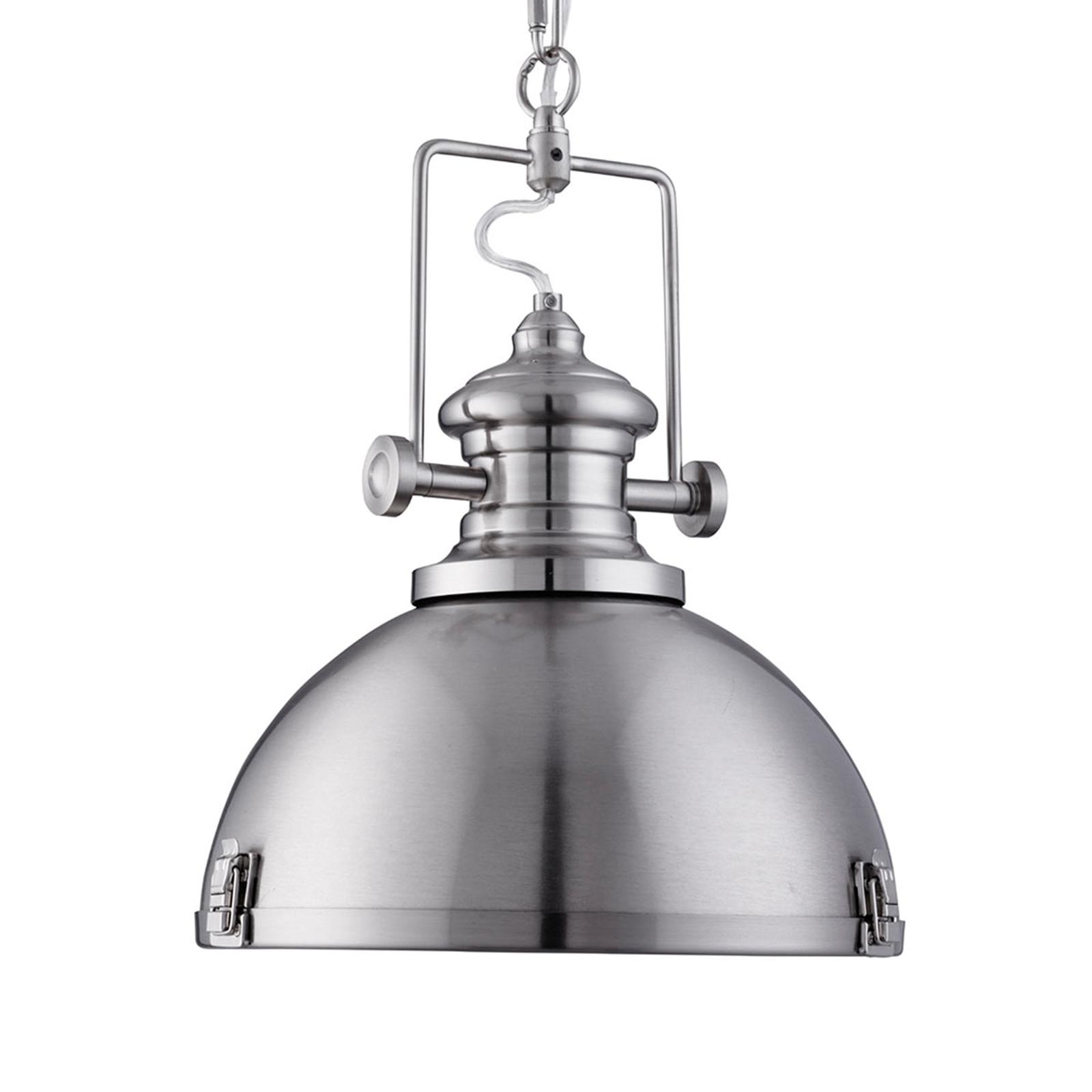 Modna industrialna lampa wisząca Silver