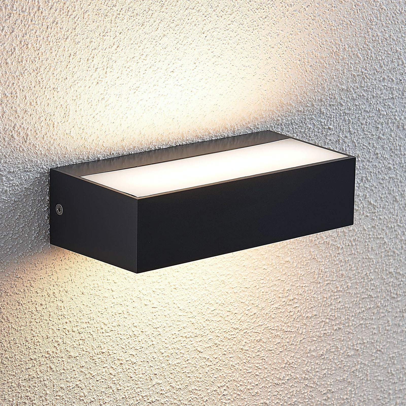 Aplique LED para exterior Nienke, IP65, 17 cm