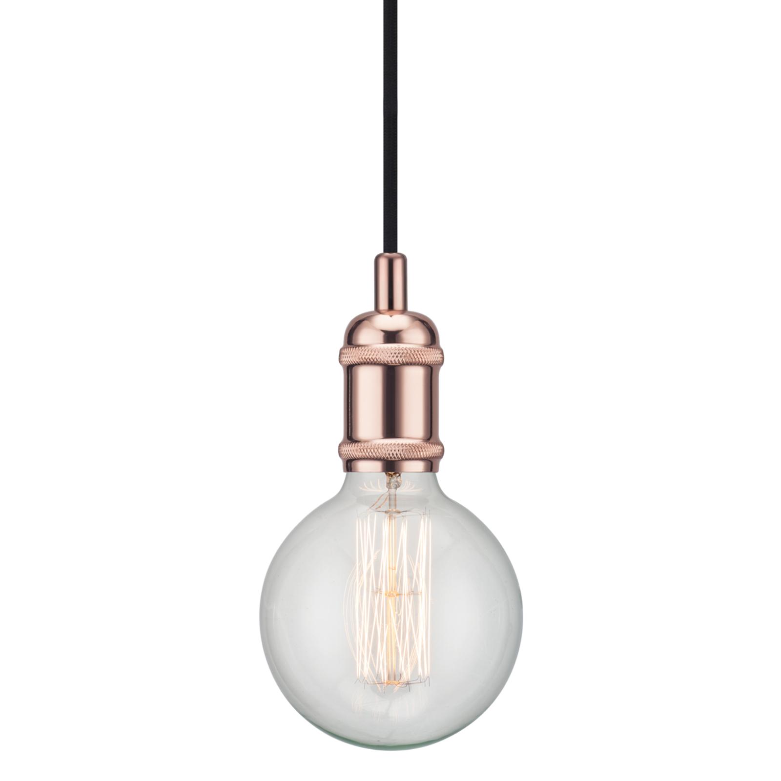 Avra - minimalistische hanglamp in koper