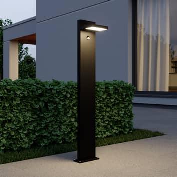 LED-pollare Silvan, 100 cm, med sensor