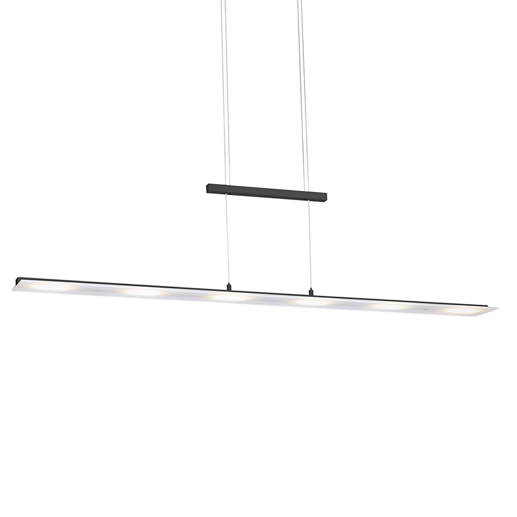 LED hanglamp Nele, sensorschakelaar, antraciet