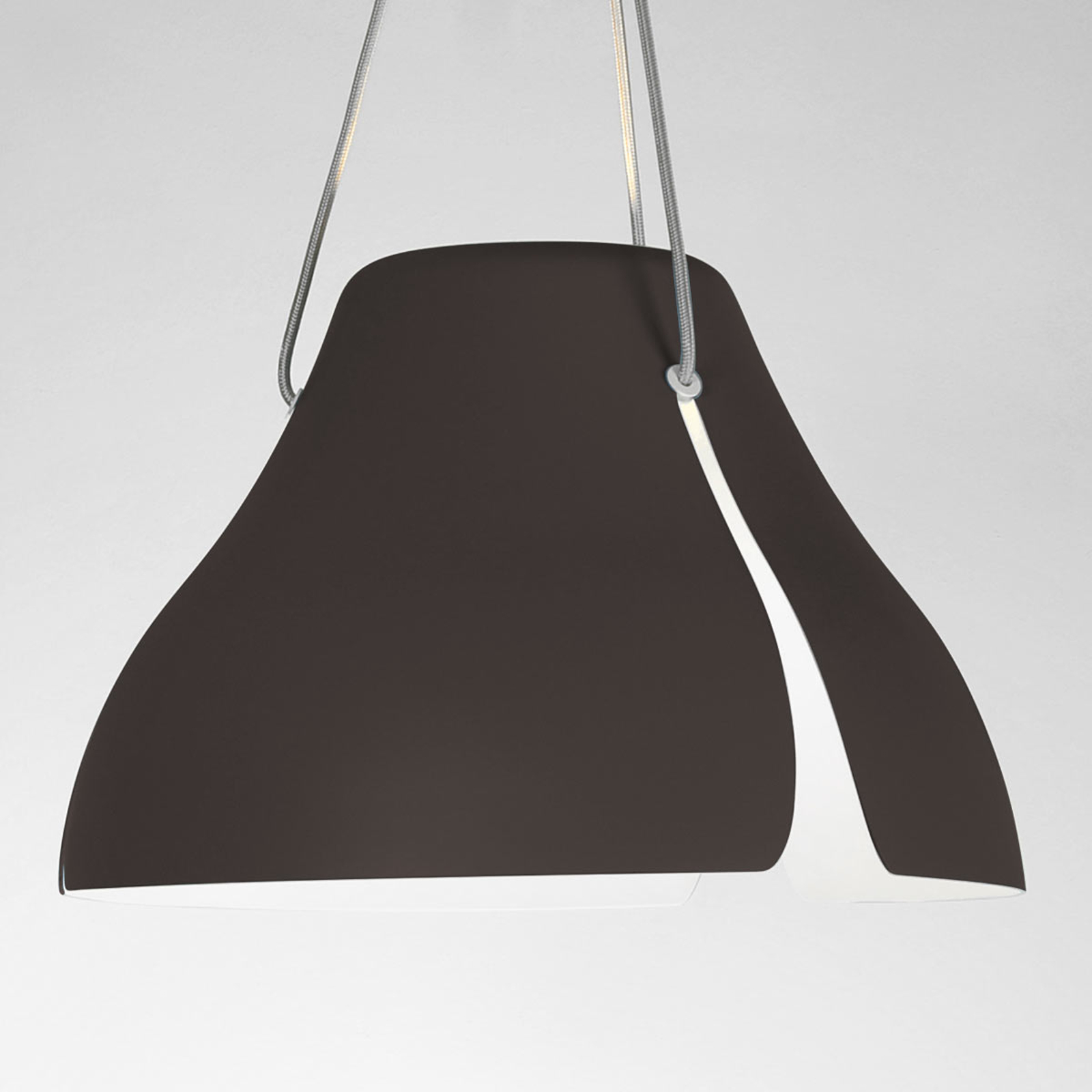 LED-pendellampe Ginkgo S40 40 cm brun