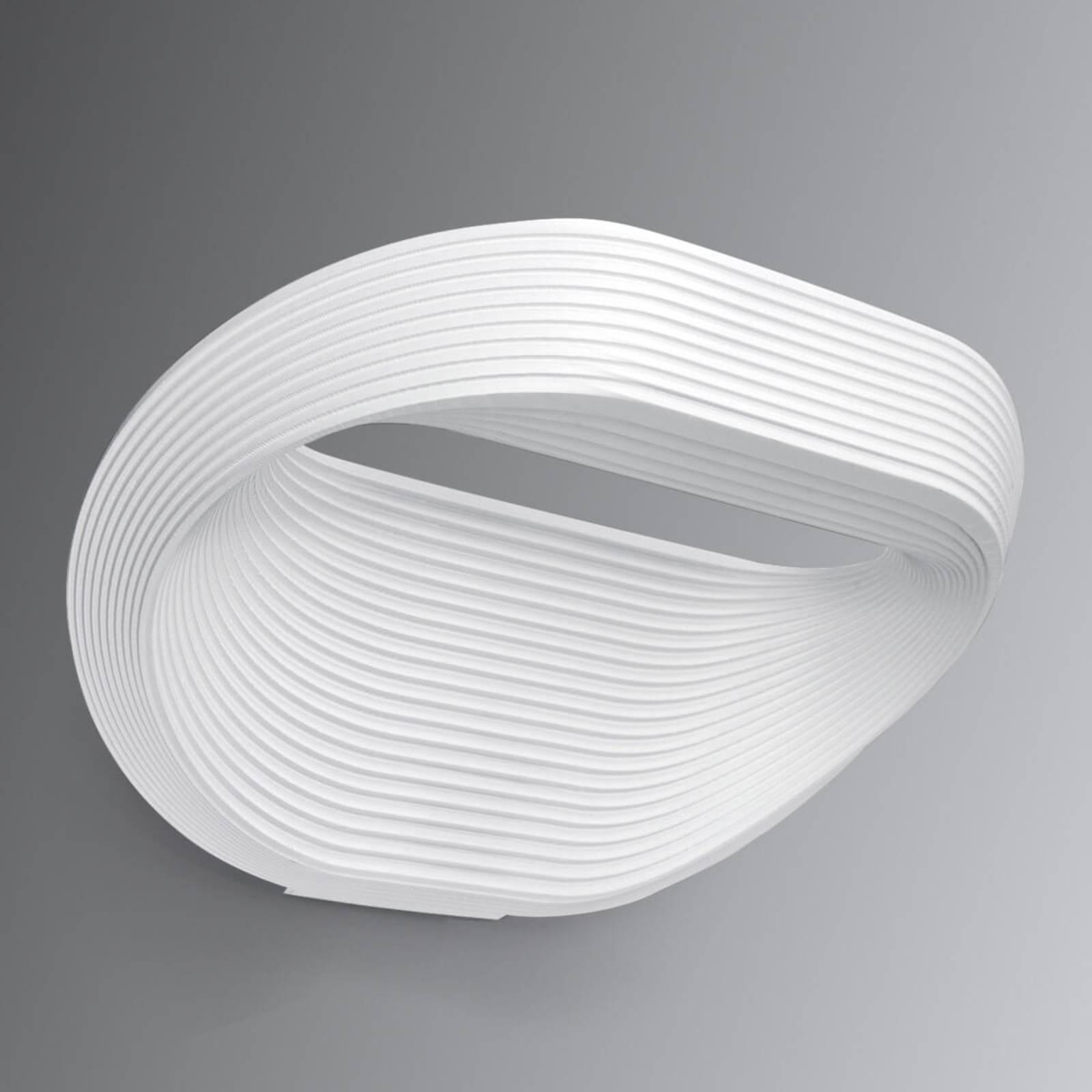 Cini&Nils Sestessa - weiße LED-Wandleuchte, 33 cm
