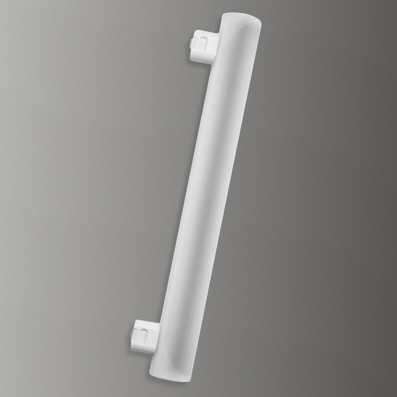 Tubo a LED S14s 4W 827, 2 zoccoli, 300 mm
