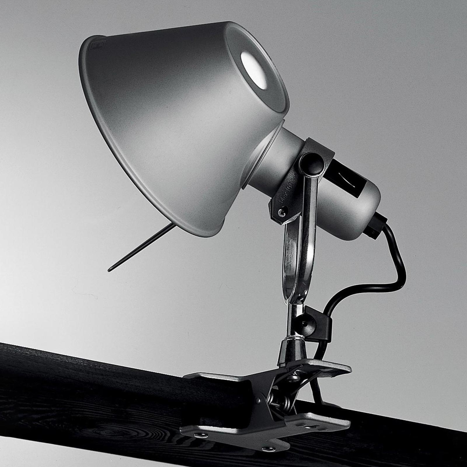 Artemide Tolomeo Pinza - designová připínací lampa