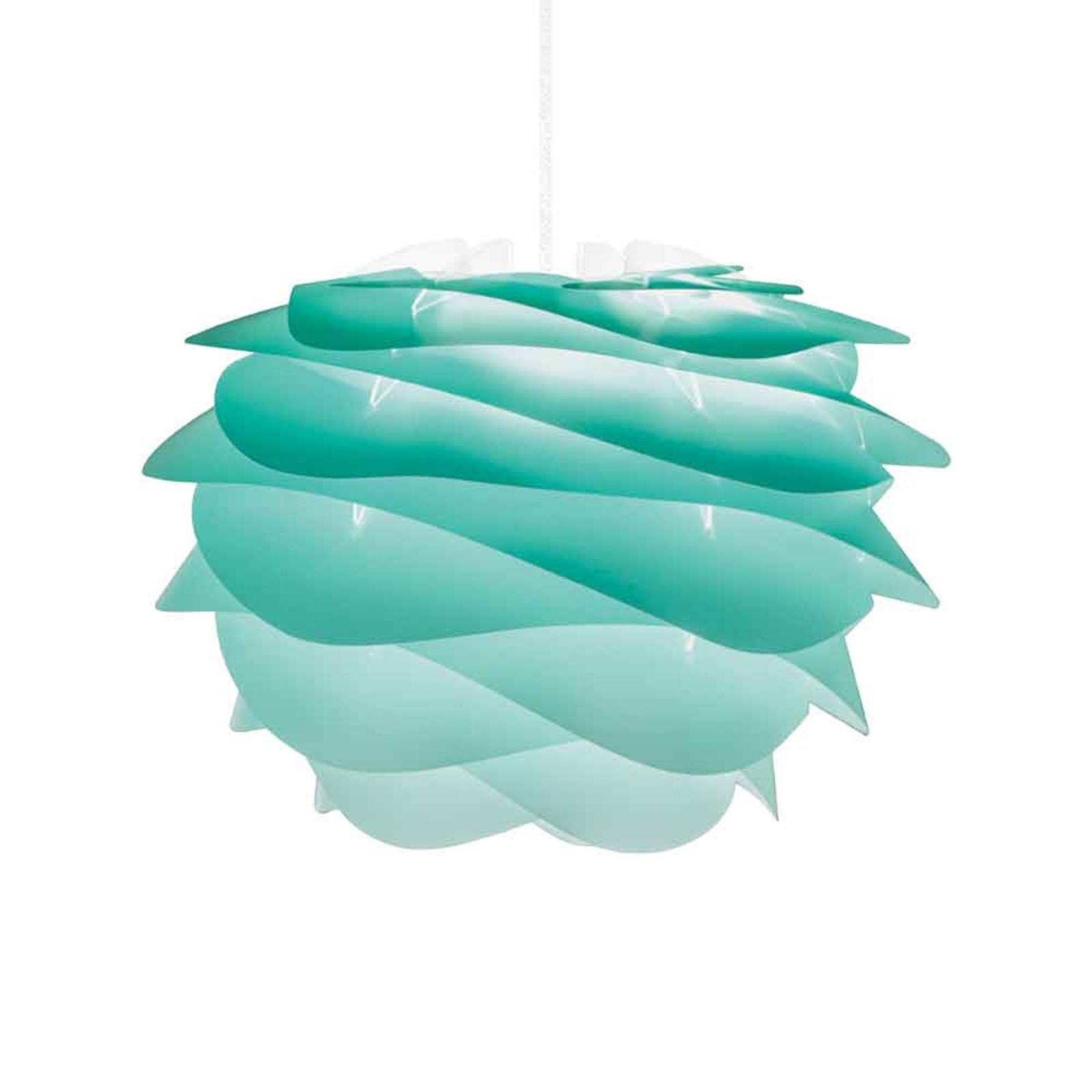 UMAGE Carmina Mini hanglamp turquoise/kabel wit