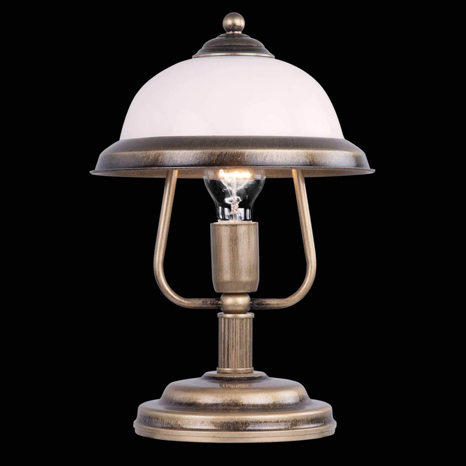 Tafellamp Torio in antiek ontwerp, hoogte 36 cm