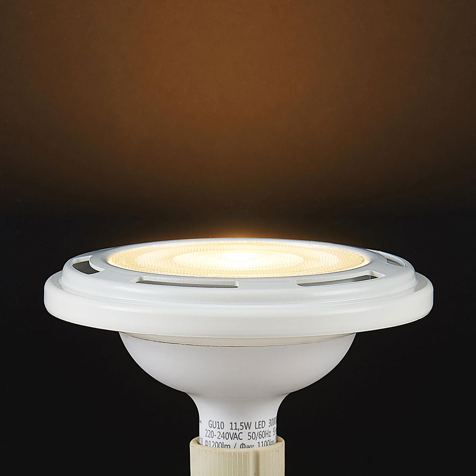 LED-reflektor GU10 ES111 11,5W dæmpbar 3.000K hvid
