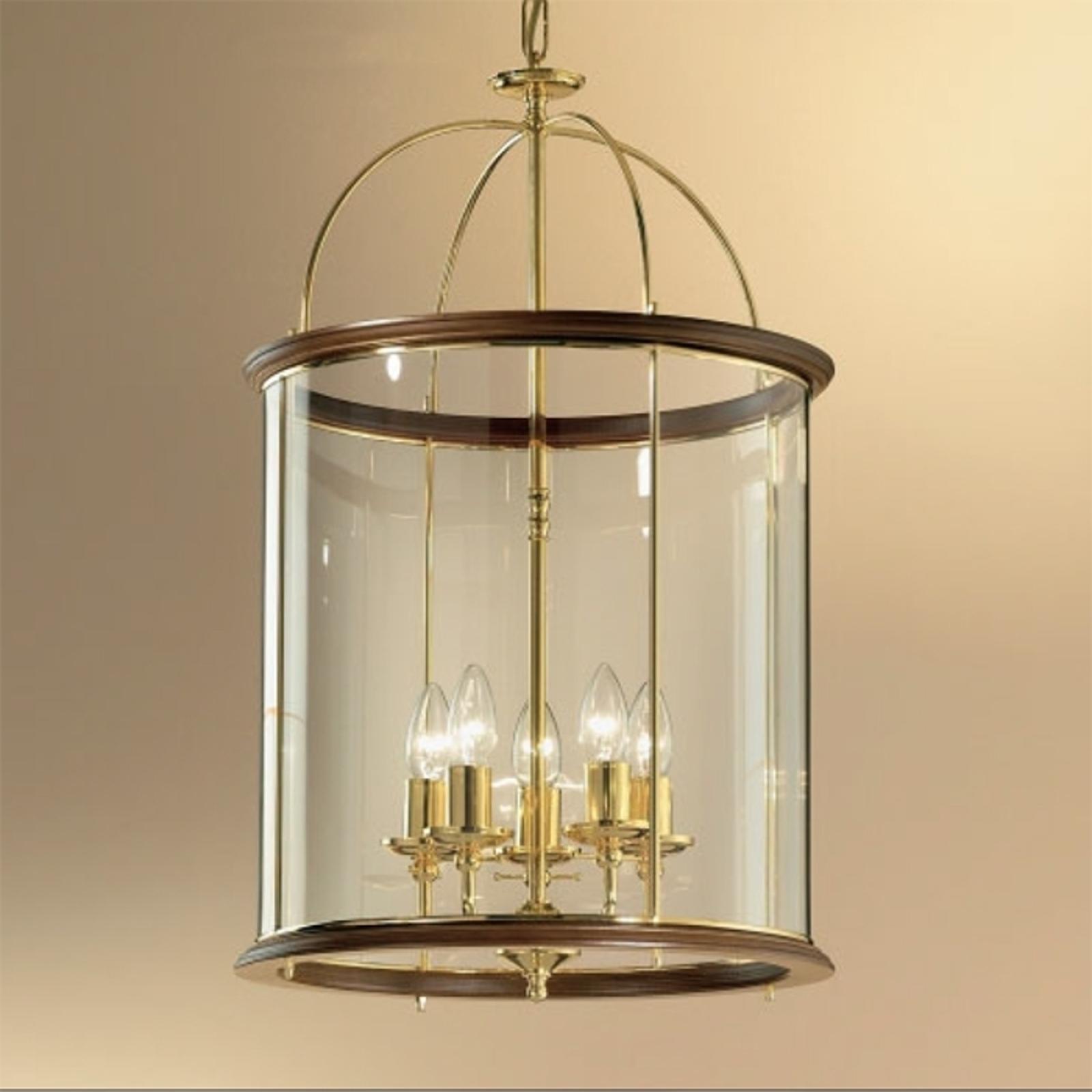 Lámpara colgante Grazie, 5 luces