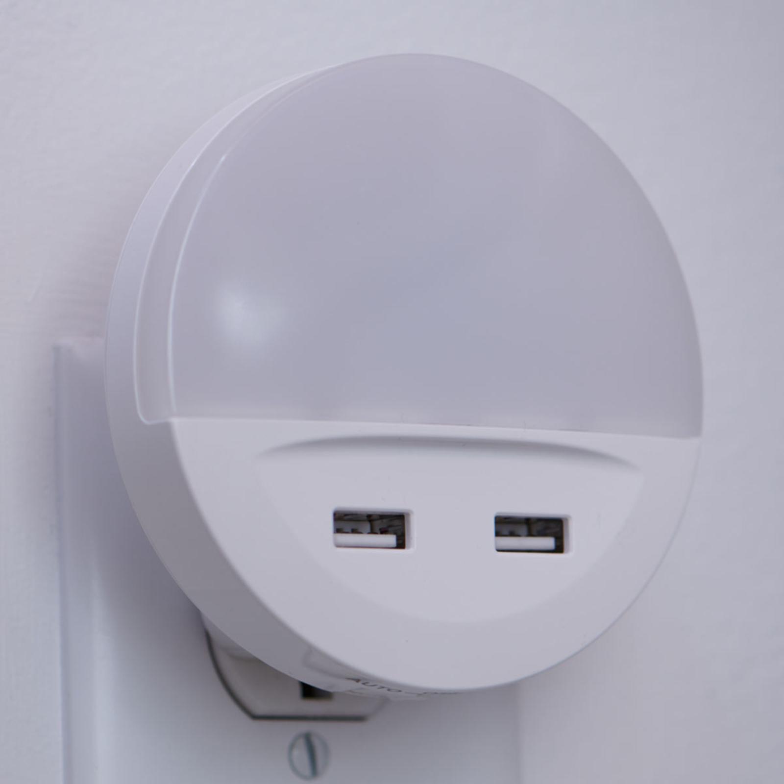 LEDVANCE Lunetta USB LED-Nachtlicht mit USB-Port