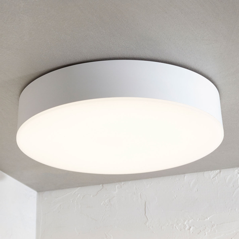 Plafoniera LED da esterni Lyam, IP65, bianco