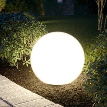 Lampa i kulform Cumulus M till trädgården Ø 45 cm