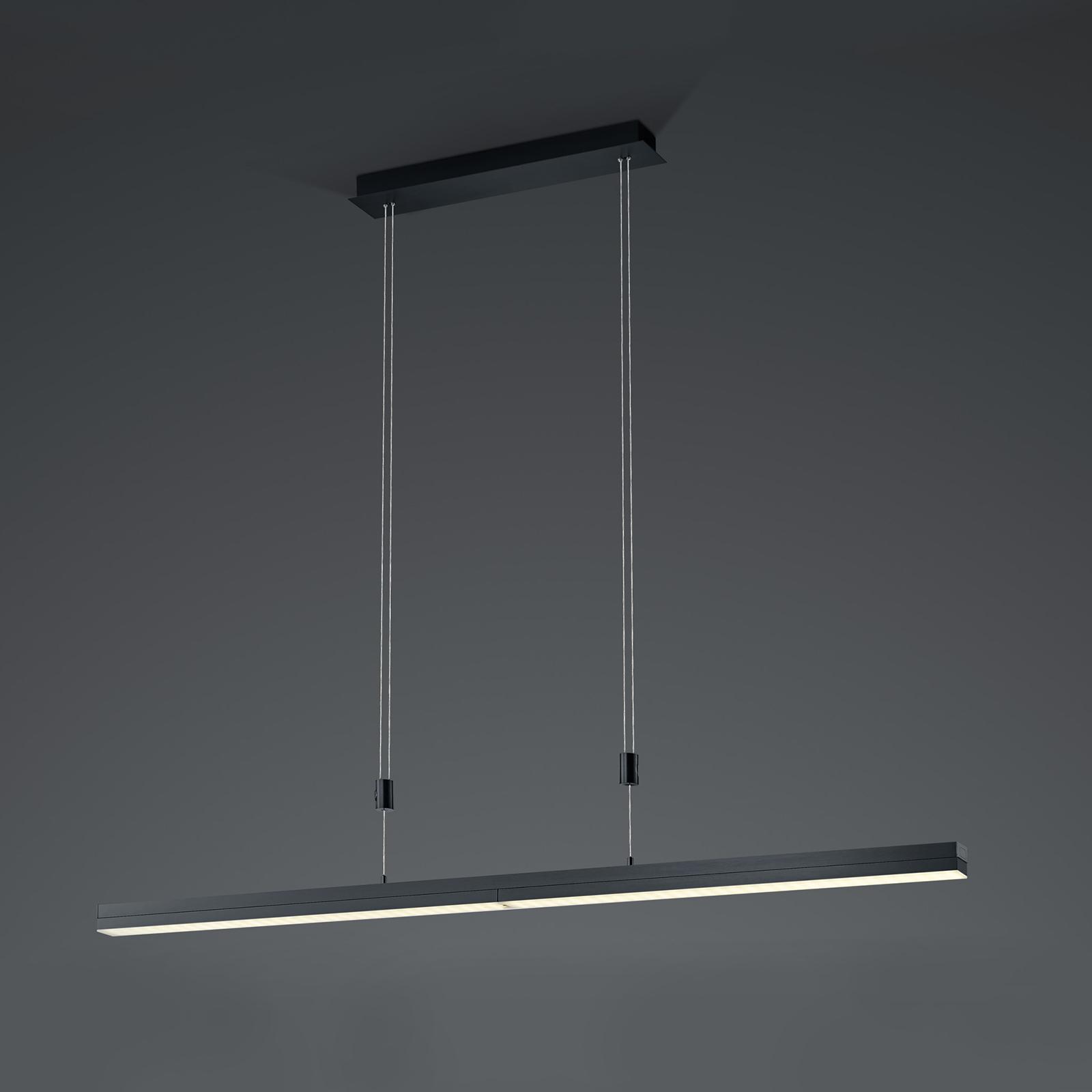 B-Leuchten Expanda-X LED hanglamp, antraciet