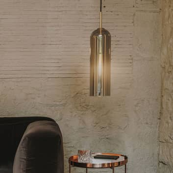 LEDS-C4 Glam hengelampe, røykglass