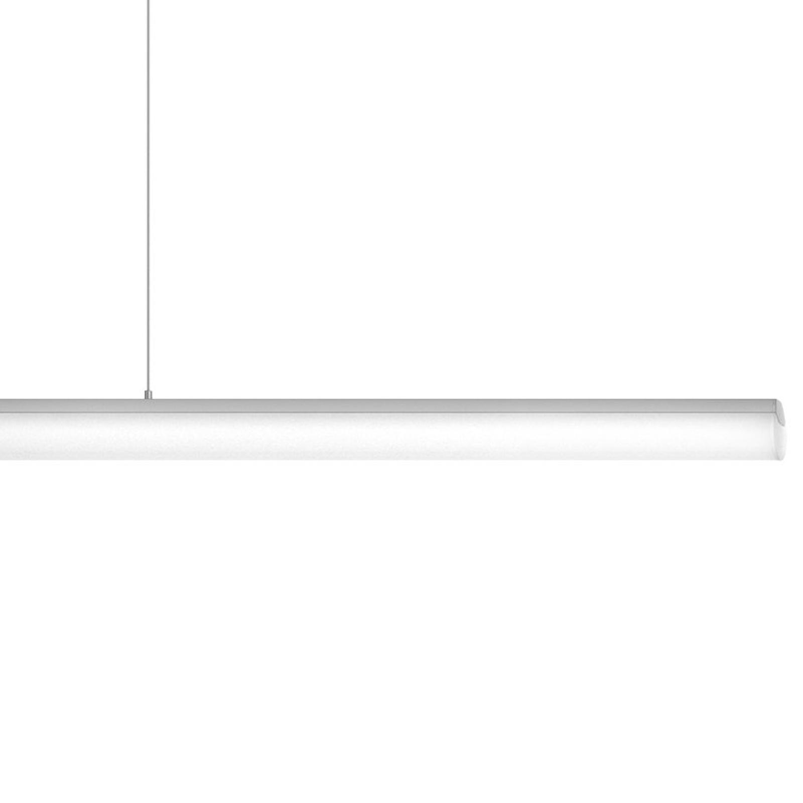 Ribag Aroa LED-Pendel DALI dim 2.700K alu 120cm