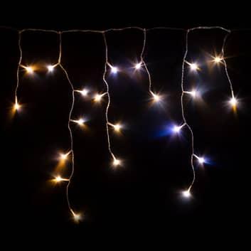 Smart LED-ljusgardin Twinkly för app, CCT