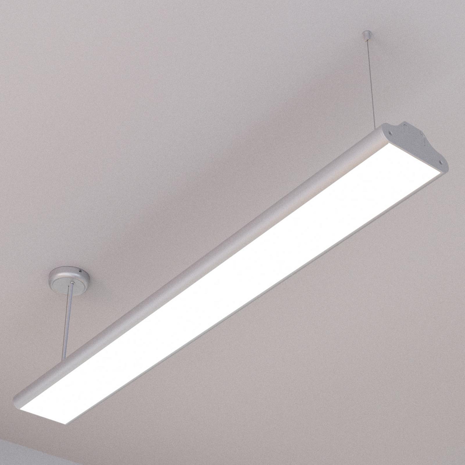 Suspension de bureau Lexine avec LED, blanc neutre
