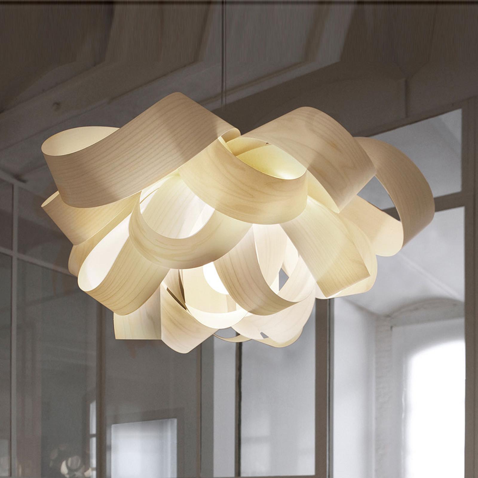 LZF Agatha Small lampa wisząca, 78x76cm, kość