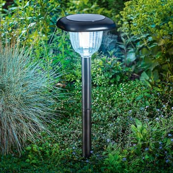 LED solcellelampe Classic Light Duo Color funktion