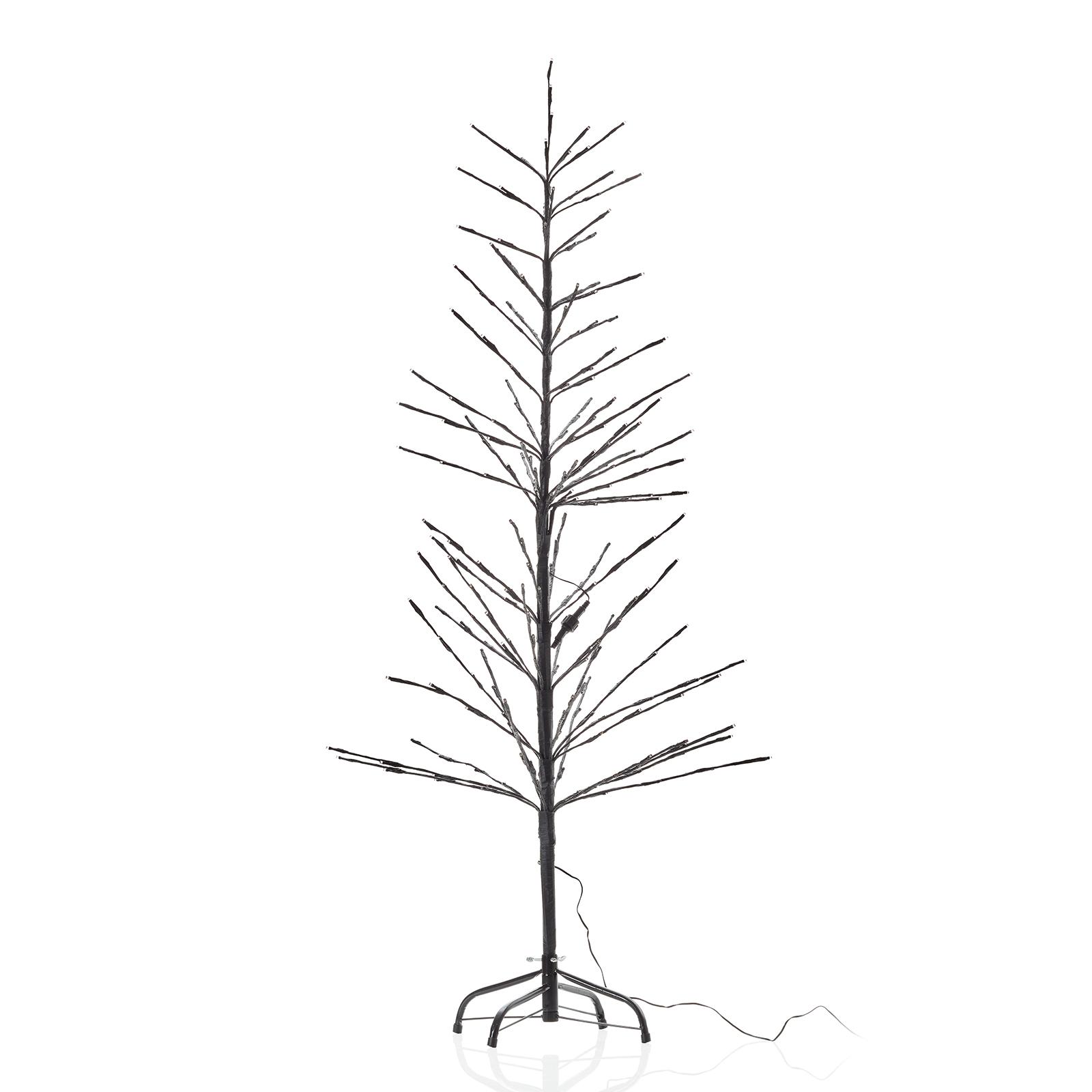 LED-Lichterbaum, schwarz, 150 cm