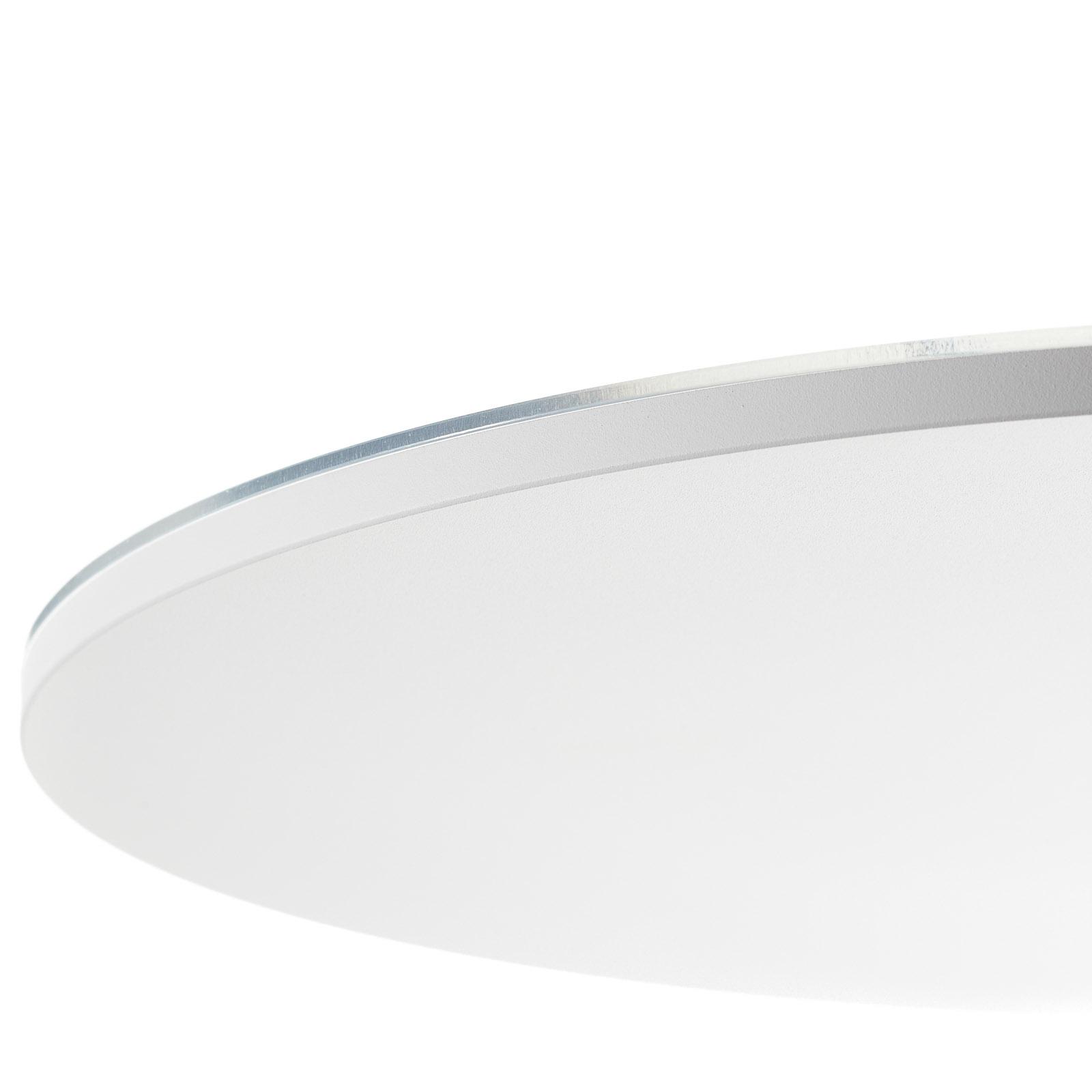 Holtkötter Plano XL plafonnier LED structuré blanc