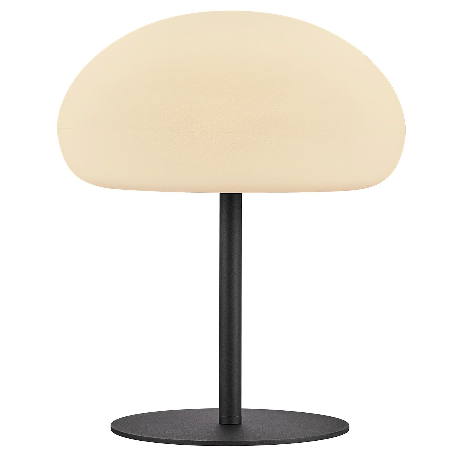 Sponge table -LED-pöytävalo, akku, korkeus 40,5 cm