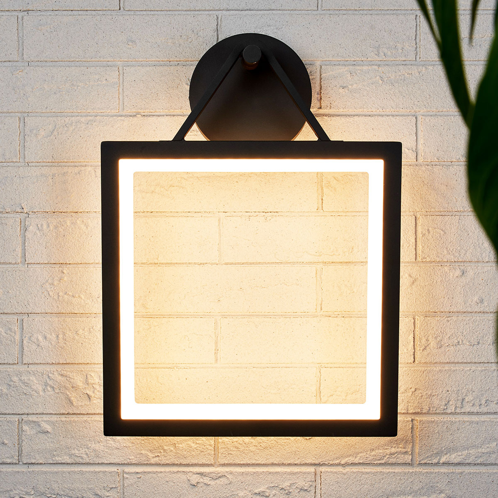 Kehyksenmuotoinen LED-ulkoseinävalaisin Mirco