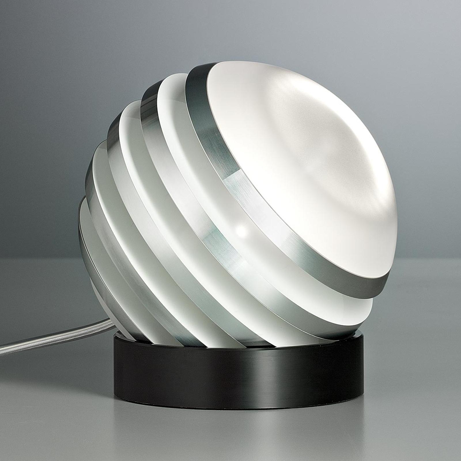Vit, originell LED-bordslampa BULO