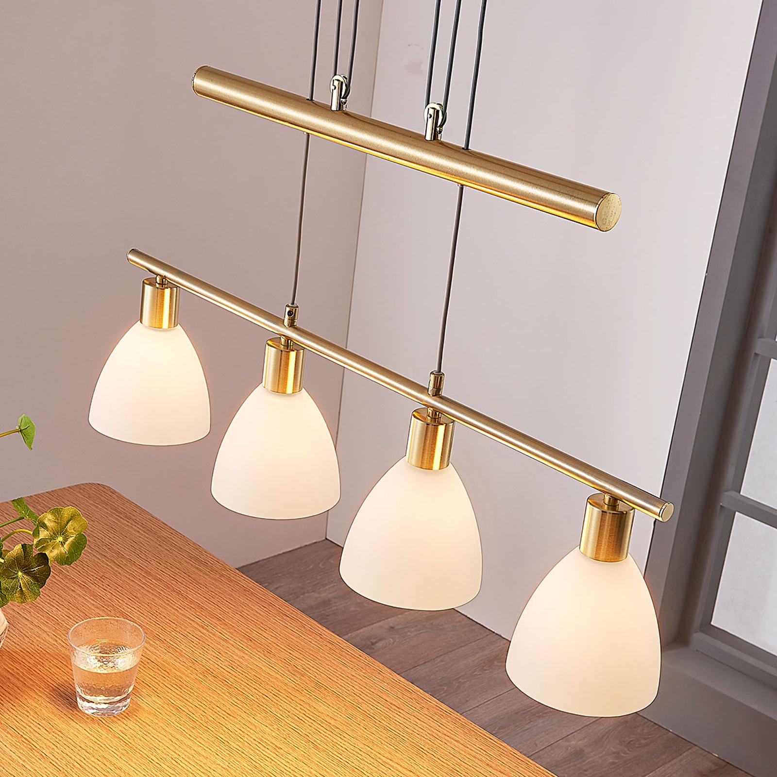 Lampa wisząca LED Simeon do jadalni