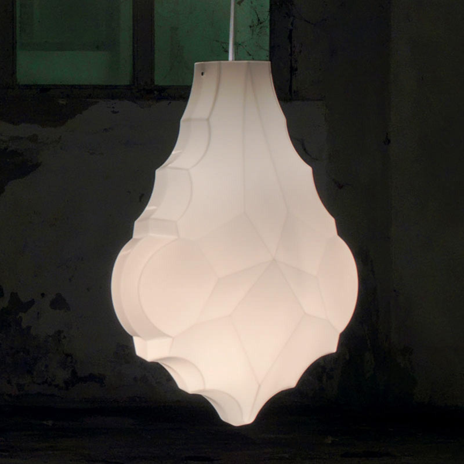 Karman 24 Karati lampa wisząca liść biała