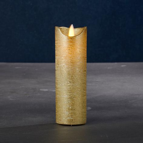 Candela LED Sara Exclusive oro/argento