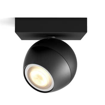 Philips Hue Buckram LED-spot, zwart uitbreiding