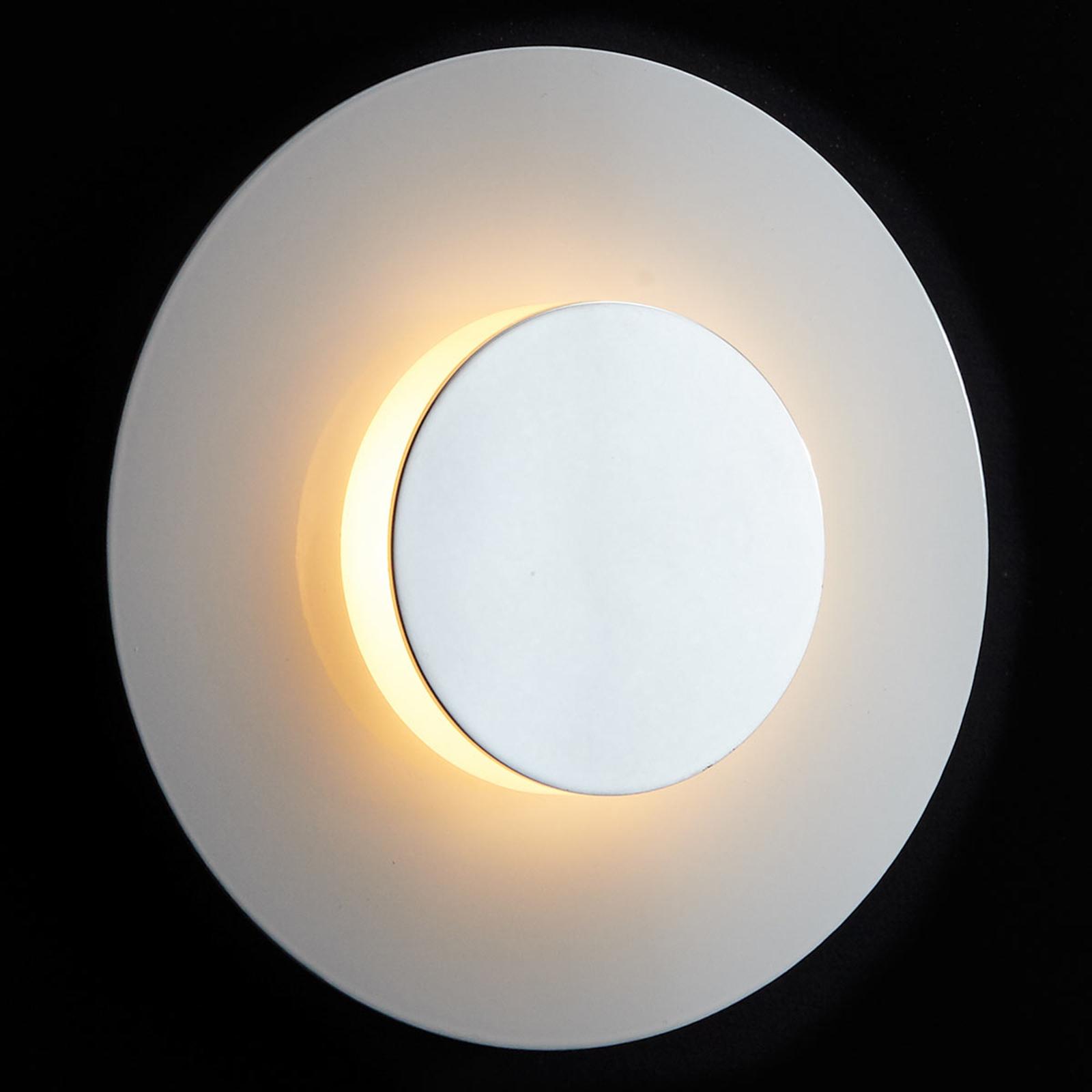 LDM Smarty Shade LED-Wandleuchte, weiß