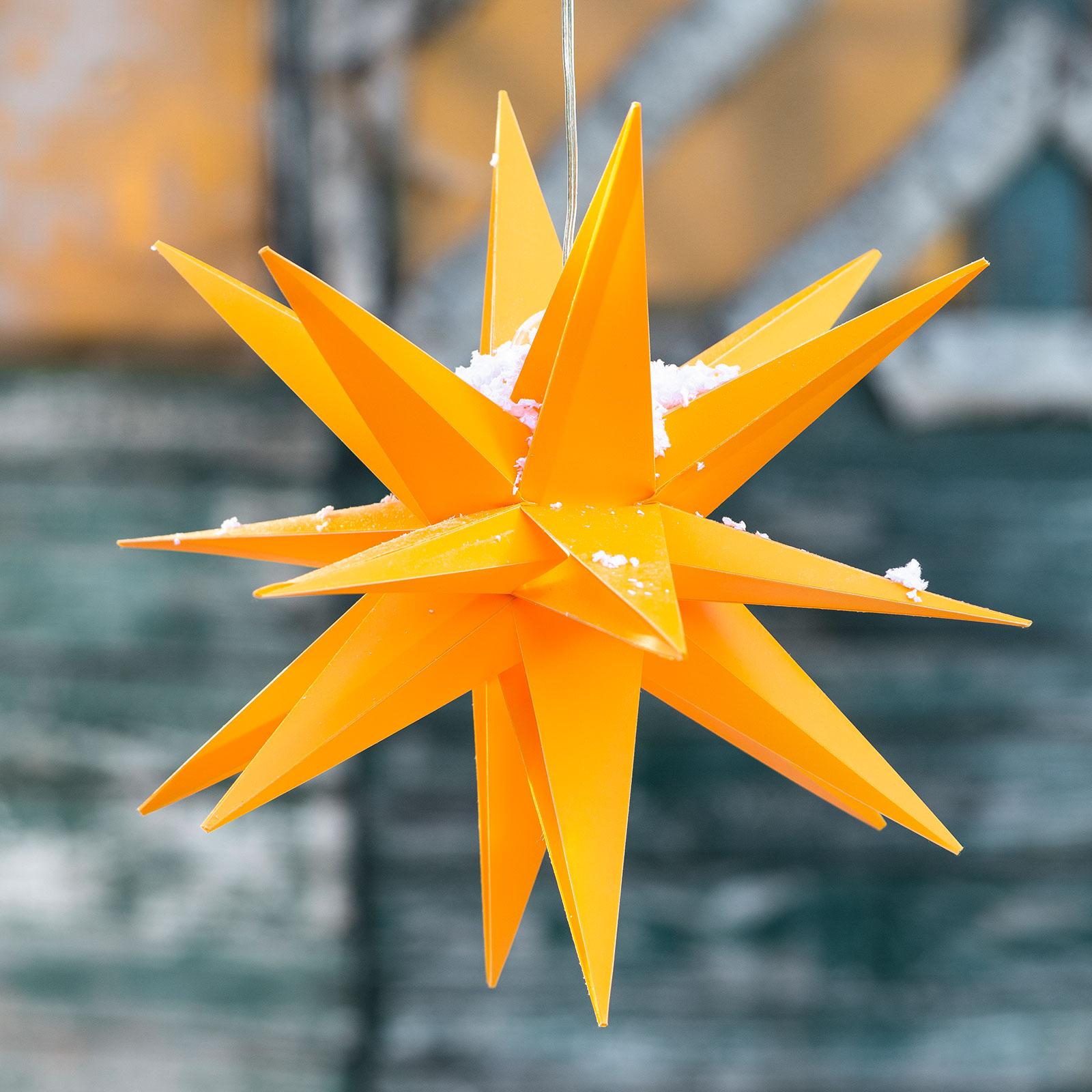 Gwiazda dekoracyjna LED 18 ramion, Ø 25 cm