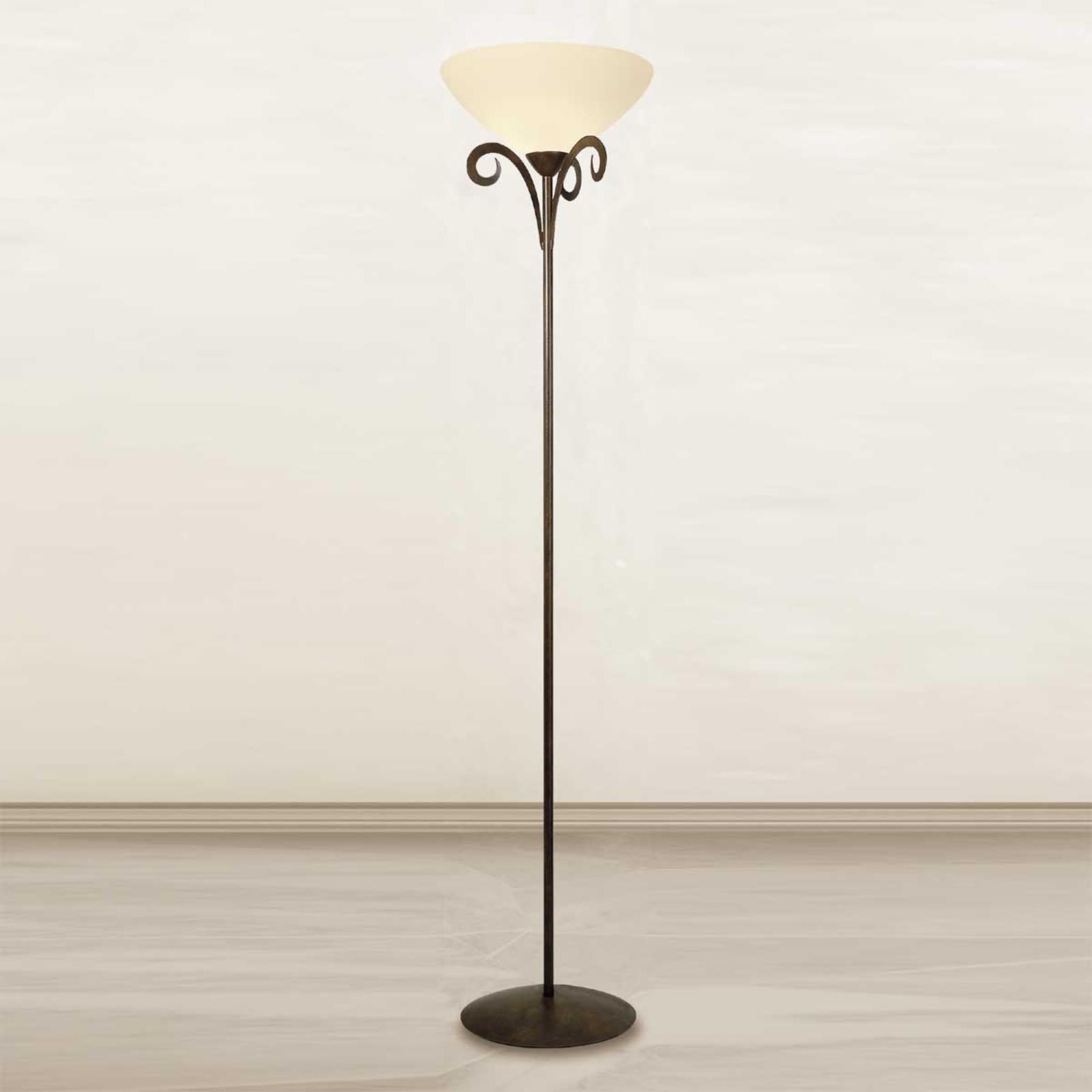 Lampa stojąca Luca w stylu dworkowym