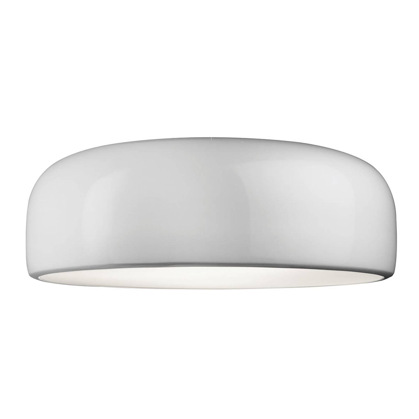 FLOS Smithfield C LED-Designer-Deckenlampe, weiß