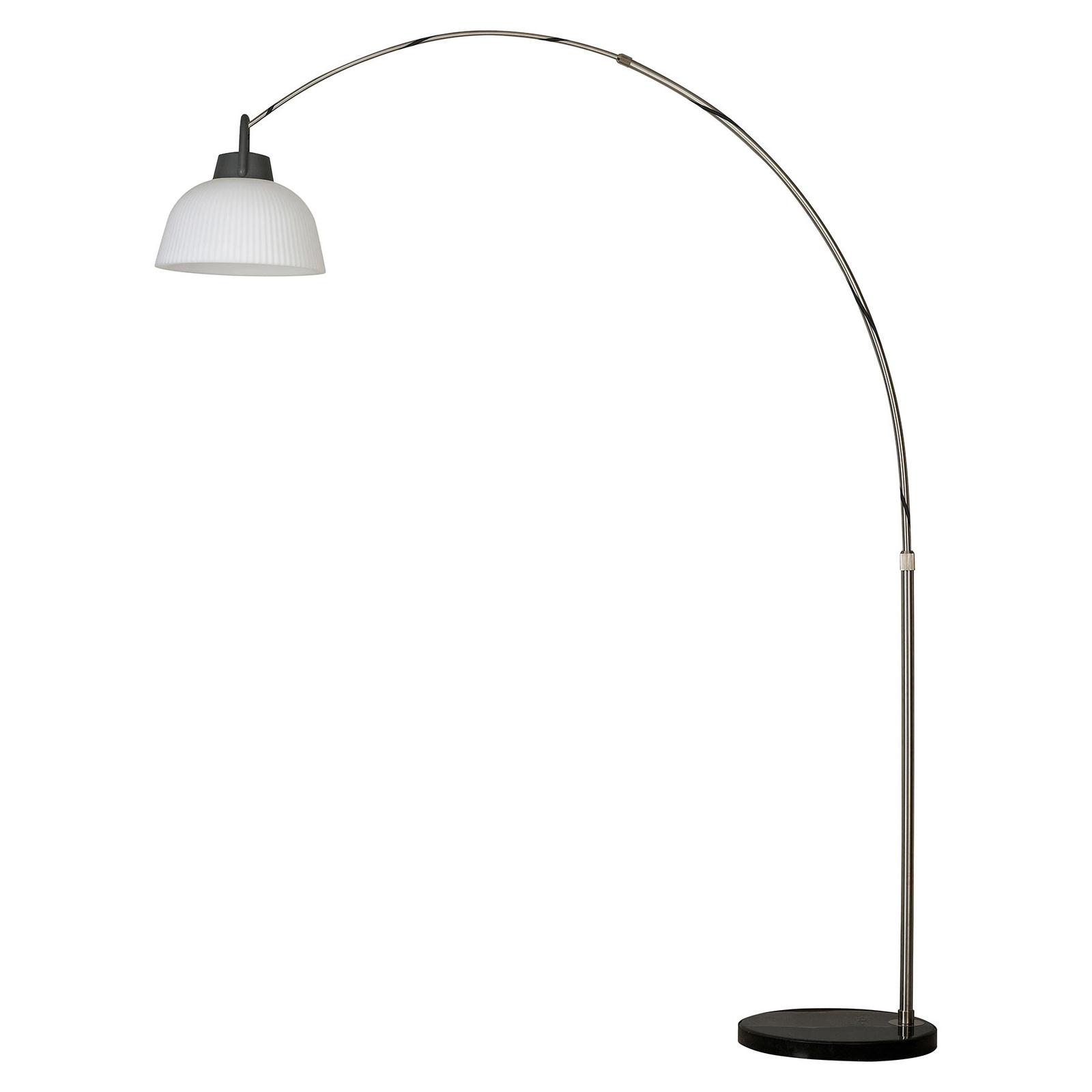 Lampa tarasowa Kinké półkulista niklowa matowa