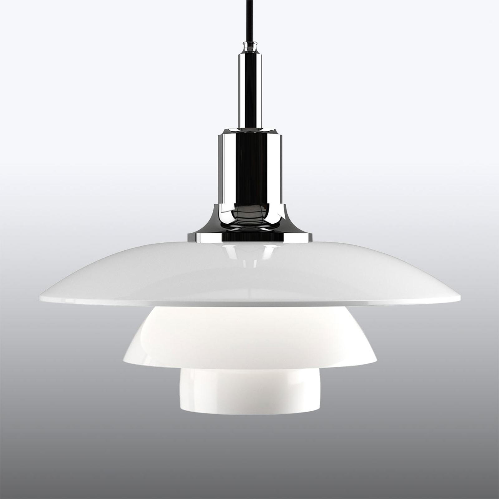 Decoratieve hanglamp PH 3/2, chroom