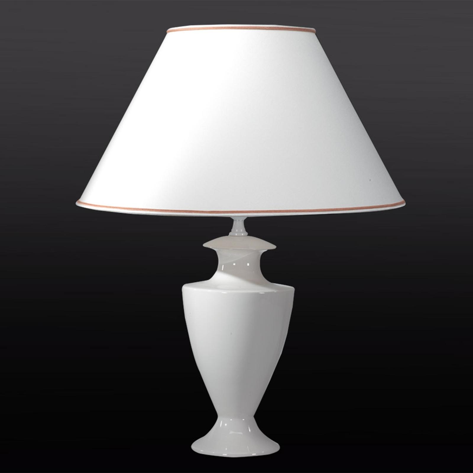Lampa stołowa ADA CRAQUELET, 70 cm